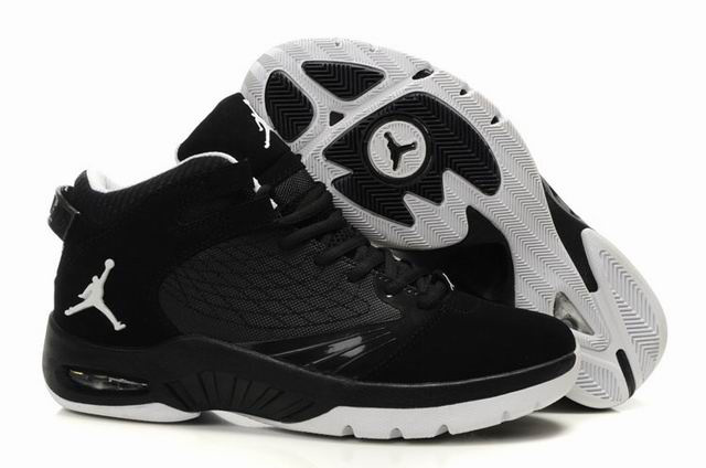 2011 Air Jordan New School Black White