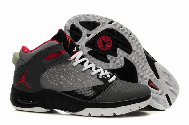 2011 Air Jordan New School Grey Black Red
