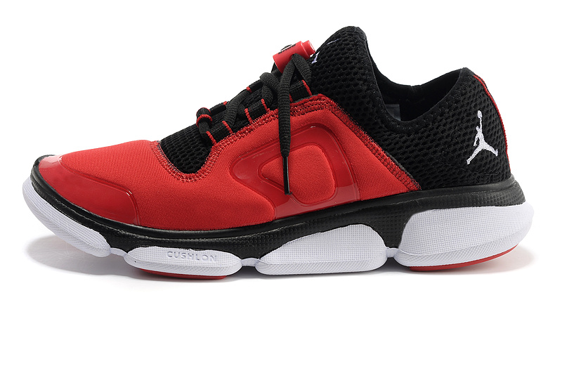 2013 Jordan Running Shoes Red Black White