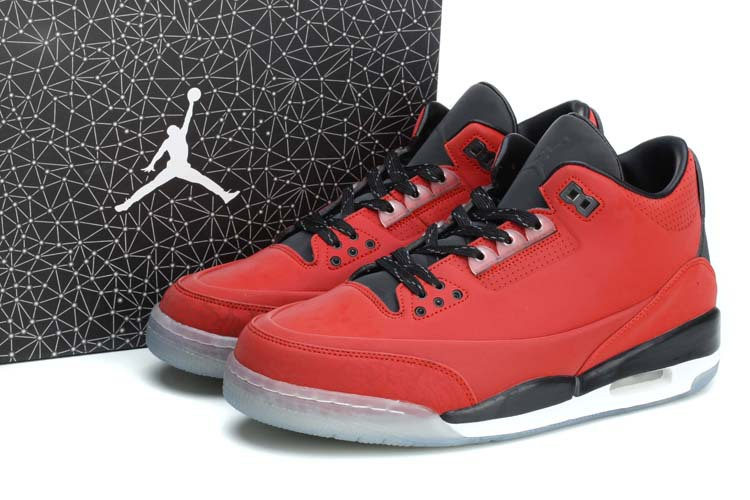 2014 New Jordan 5Lab3 Red Black White Shoes