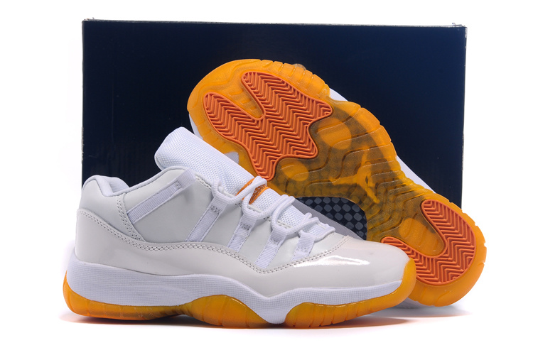 2015 Air Jordan 11 Low GS Citrus