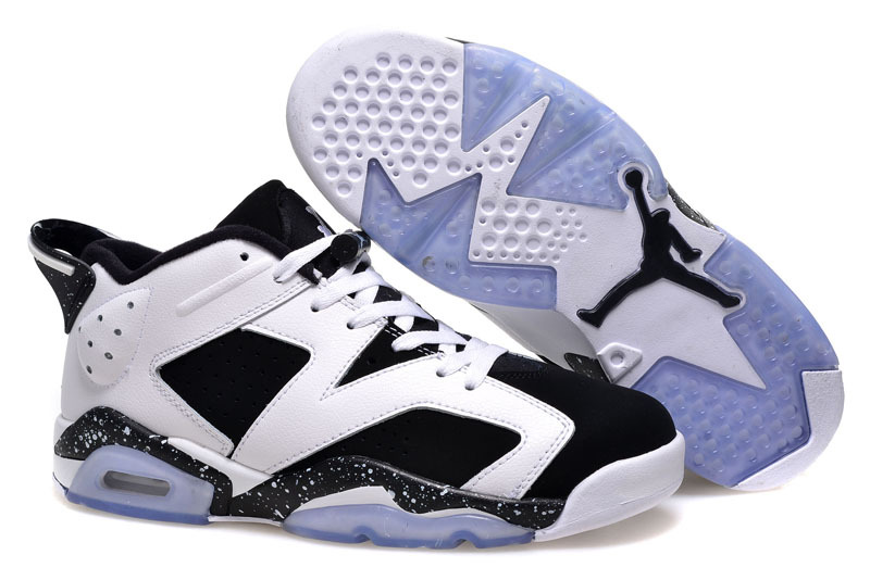 2015 Air Jordan 6 Low GS Oreo