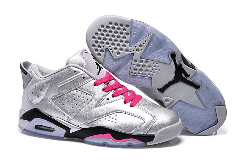 2015 Air Jordan 6 Low GS Valentines Day