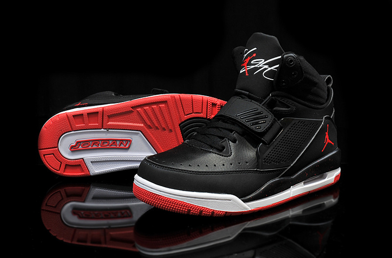 Cheap 2015 Real Jordan Flight 97 Black Red