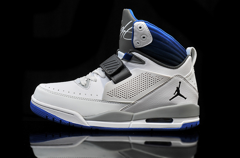 Cheap 2015 Real Jordan Flight 97 White Grey Black Blue
