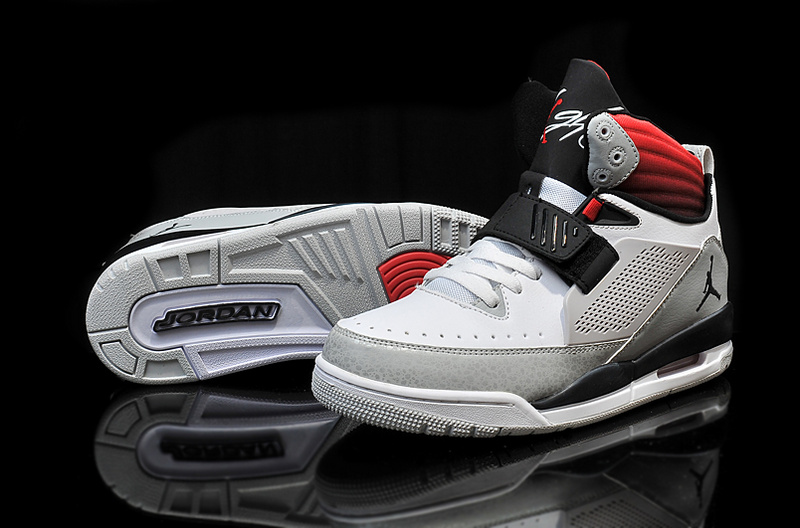Cheap 2015 Real Jordan Flight 97 White Grey Black Red