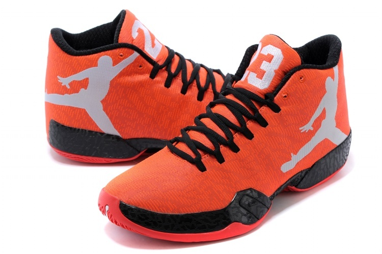 Cheap 2015 Air Jordan 29 Orange Black Grey Shoes