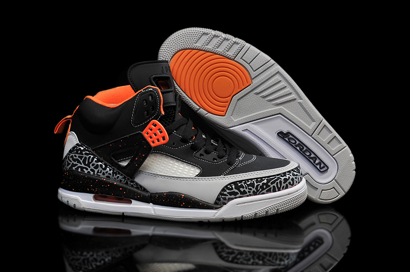 Cheap Real 2015 Air Jordan 3.5 Black Orange Grey Shoes