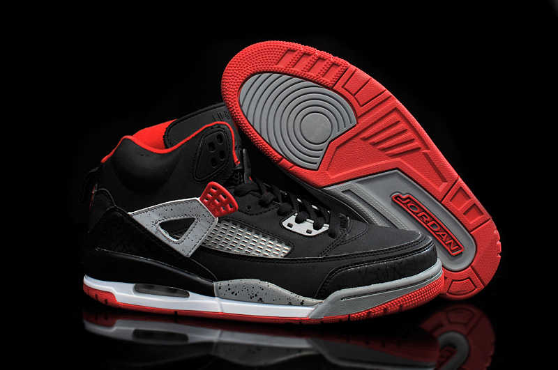 Cheap Real 2015 Air Jordan 3.5 Black Red Grey Shoes