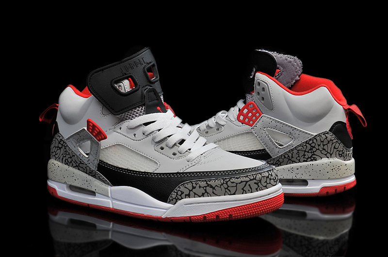 Cheap Real 2015 Air Jordan 3.5 Grey Black Red Shoes