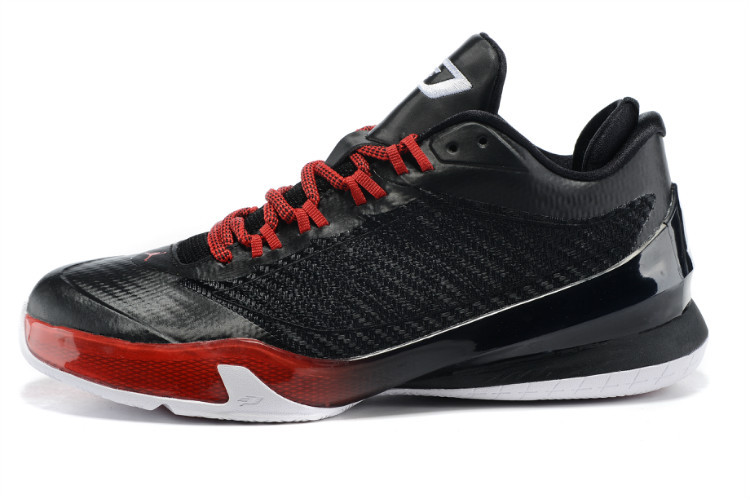2015 Nike Jordan CP3 VIII Black Red Shoes