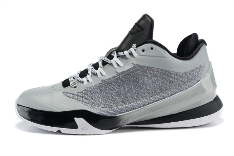 2015 Nike Jordan CP3 VIII Grey Black Shoes