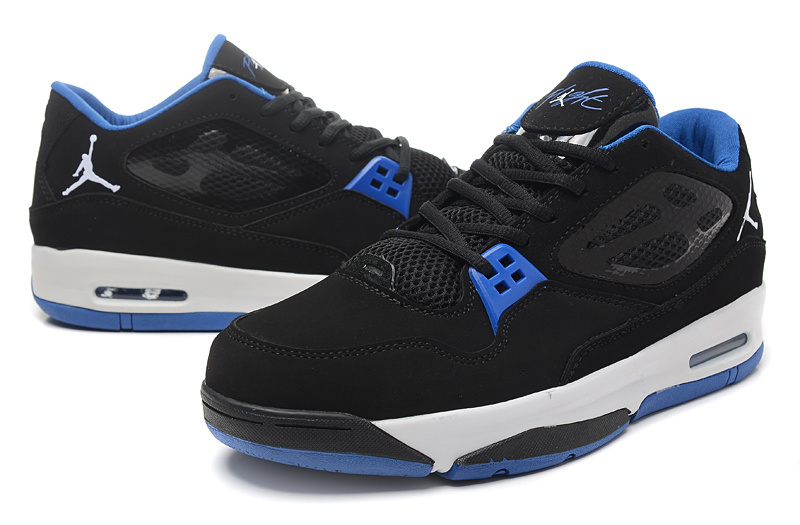 2015 Air Air Jordan Flight 23 RST Low Black Blue Shoes