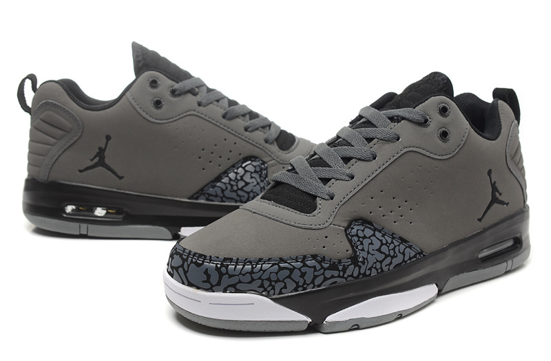 2015 Air Jordan Dark Grey Cement Black White Shoes