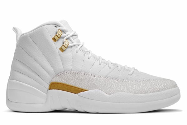2016 Air Jordan 12 OVO White Metallic Gold White