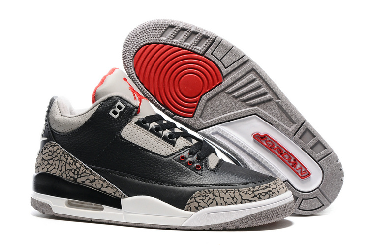 2016 Air Jordan 3 Black Cement