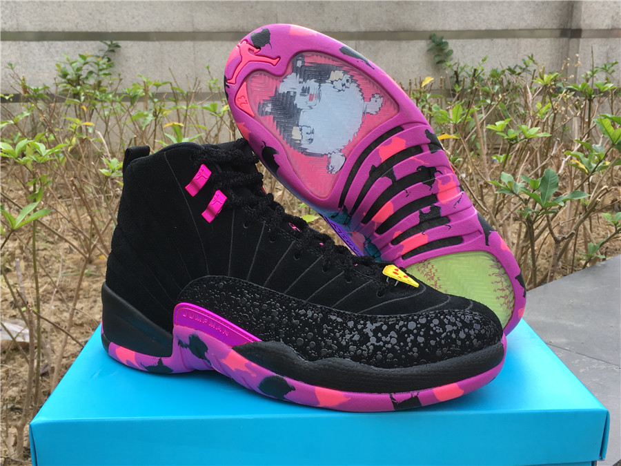2017 Men Air Jordan 12 Doernbecher Shoes
