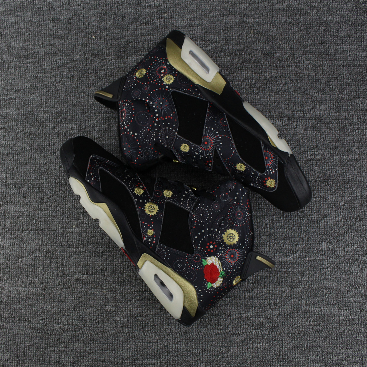 2017 Men Air Jordan 6 Chinese New Year Shoes