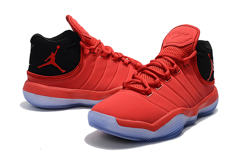 2017 Men Jordan Super Fly 6 Red Black Shoes