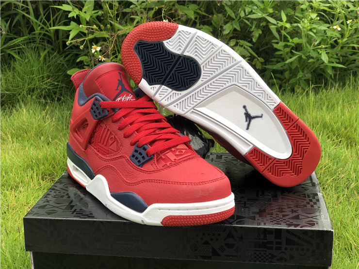 jordan 4 se fiba gym red shoes