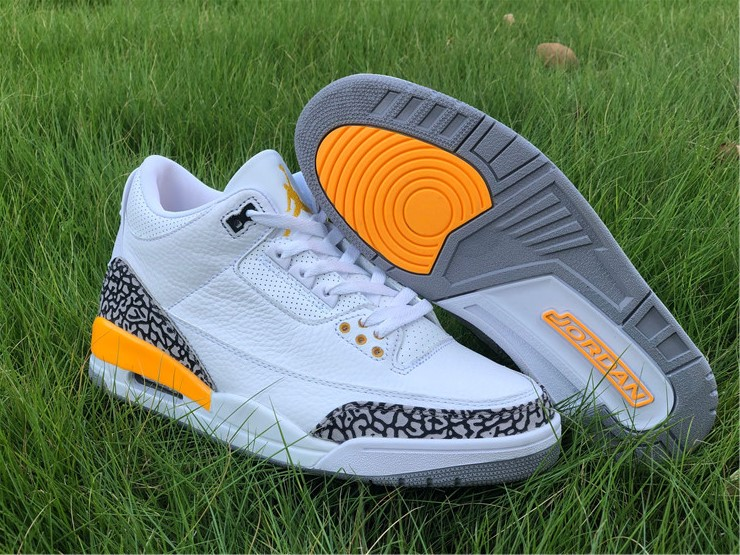 new release jordan 3 iii laser orange shoes