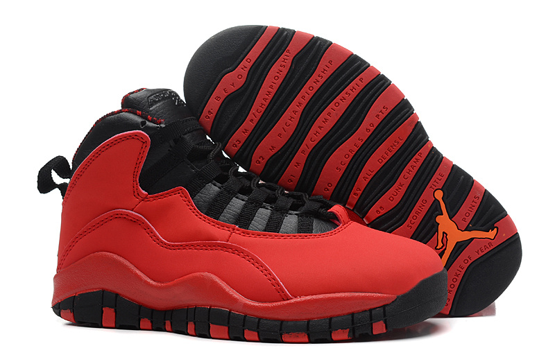 Air Jordan 10 X Retro Fusion Red Black Laser Orange