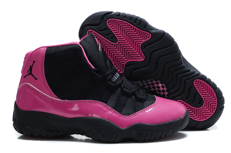 Authentic Jordan 11 Black Pink For Women