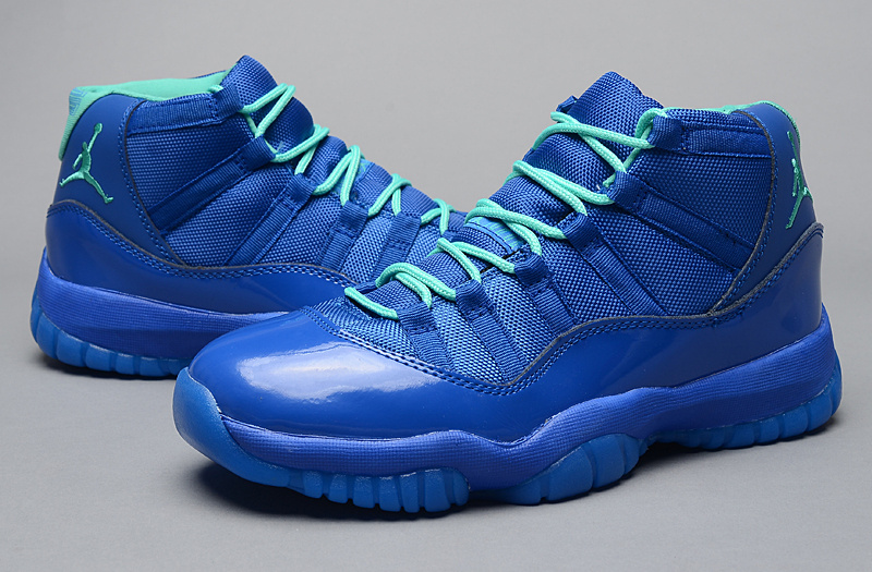 Air Jordan 11 Purple Aqua_1
