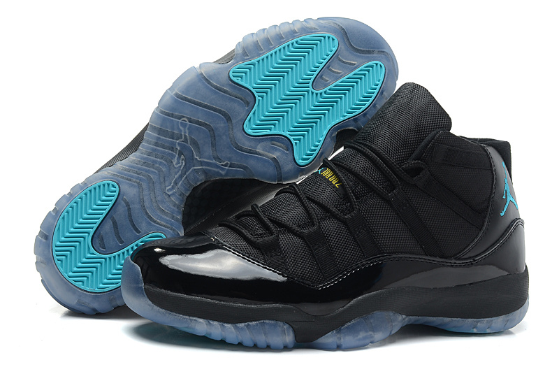 Air Jordan 11 Retro Black Gamma Blue Black Varsity Maize