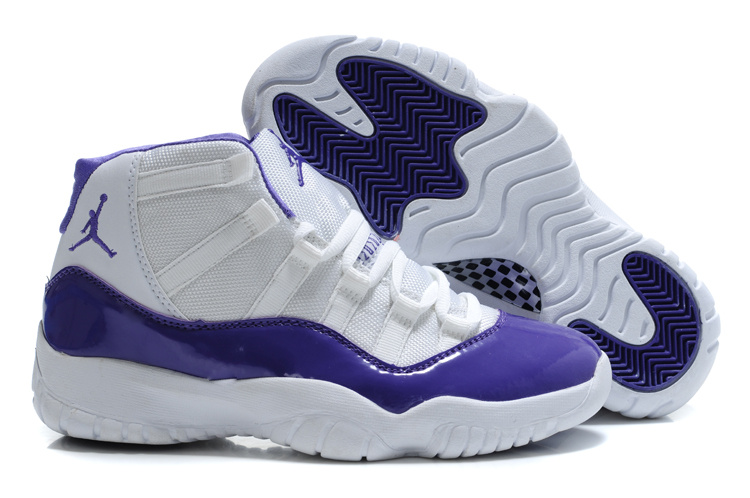 Authentic Jordan 11 White Blue For Women