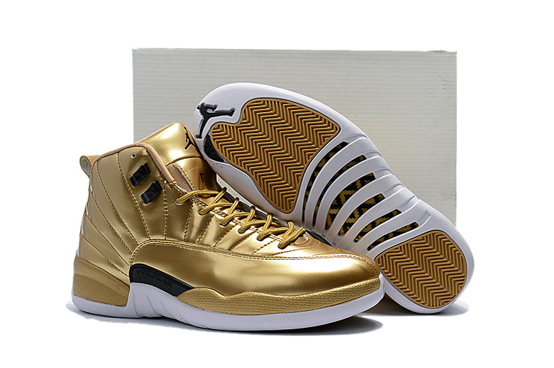 Air Jordan 12 Pinnacle Metallic Gold
