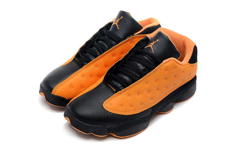 Air Jordan 13 Low Black Orange Shoes