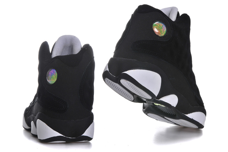 air jordan 13 black and white