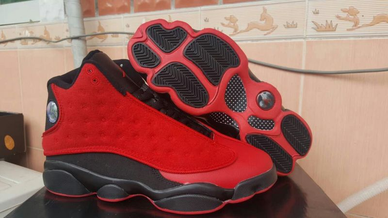 Air Jordan 13 Wool Red Black