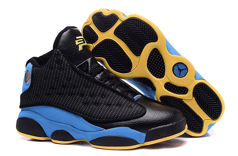 Air Jordan 13 XIII CP3 Away PE Black Orion Blue Sunstone On Sale