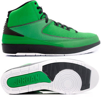 Cheap And Comfortable Air Jordan 2 Green Chrome