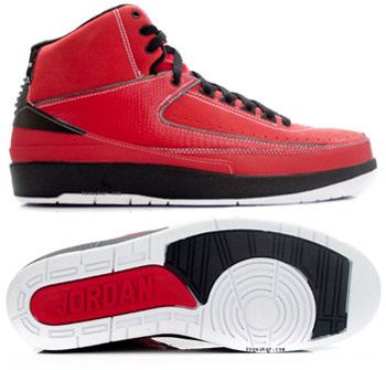Cheap And Comfortable Air Jordan 2 Red Black Chrome
