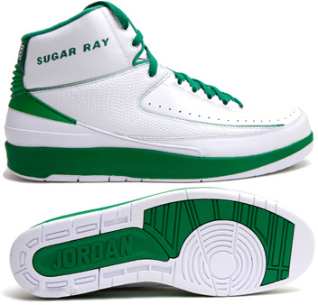 Cheap And Comfortable Air Jordan 2 White Green Chrome