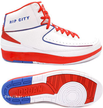 Cheap And Comfortable Air Jordan 2 White Red Blue Chrome