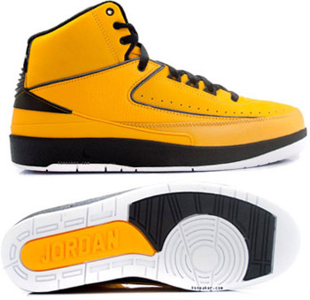 Cheap And Comfortable Air Jordan 2 Yellow Chrome