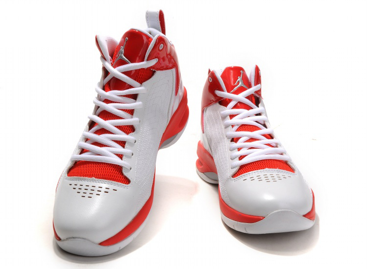 Handsome Jordan 23 Fly Spiderman White Red