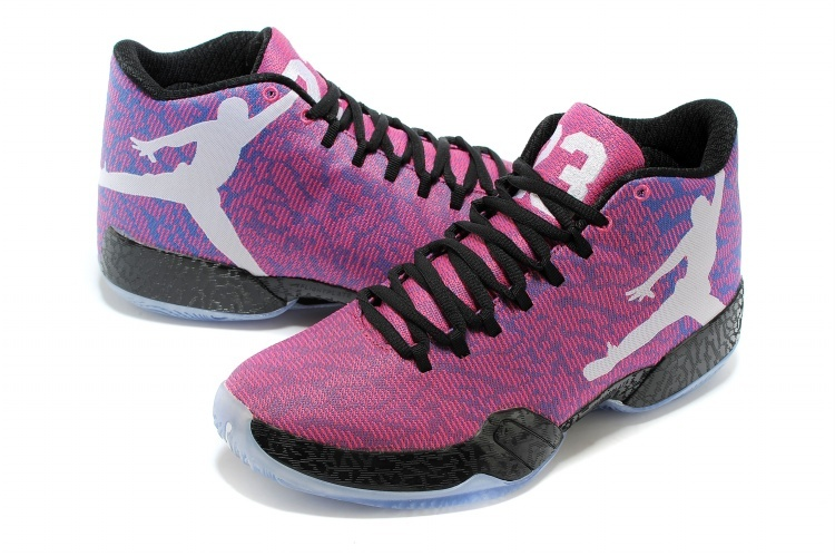 New Air Jordan 29 Purple Black Shoes