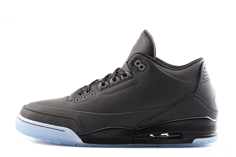 Air Jordan 3 5Lab3 Black Black Clear Cheap