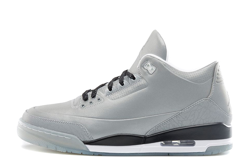 Air Jordan 3 5Lab3 Reflective Silver Black White