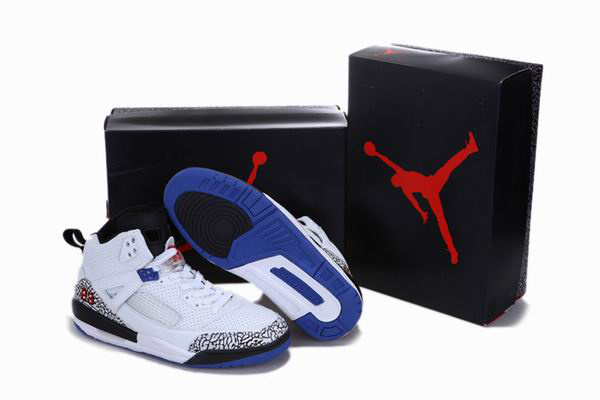 New Arrival Jordan 3.5 Reissue White Black Blue Cement Shoes