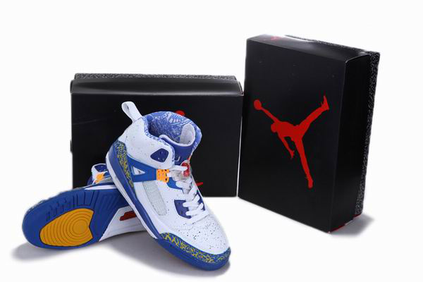 New Arrival Jordan 3.5 Reissue White Blue Yellow Shoes