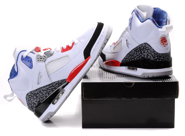 Special Jordan Shoes 3.5 White Grey Red