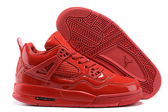 Air Jordan 4 Retro 11Lab4 Red Patent Leather