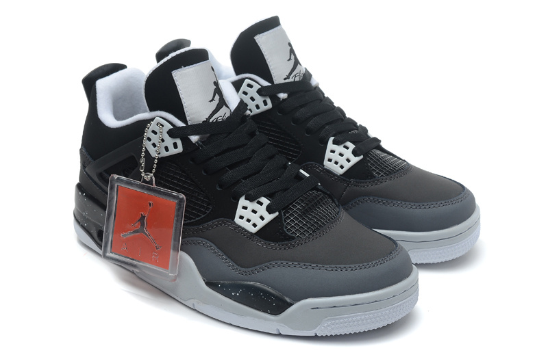 Air Jordan 4 Retro Fear Black White Cool Grey Pure Platinum