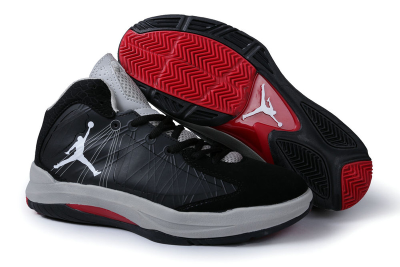 2013 Air Jordan Aero Flight Black Grey Red For Men